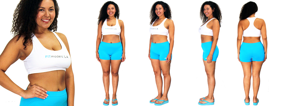 Size 10-12 fit model